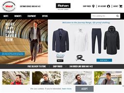 Rohan shopping