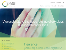 Signet Connect for Insurance gift card purchase