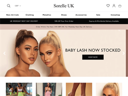 Sorelle UK shopping