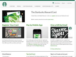 Starbucks gift card purchase