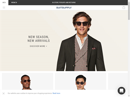 Suitsupply shopping