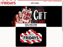 TGI Fridays gift card purchase