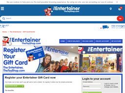 The Entertainer gift card purchase