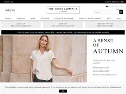 The White Company shopping
