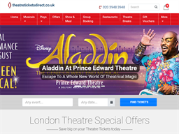 TheatreTickets Direct shopping