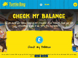 Turtle Bay Restaurants gift card purchase