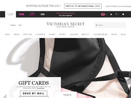 Victoria's Secret gift card purchase