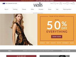 Wallis shopping