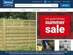 Wickes shopping