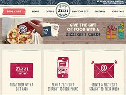 Zizzi gift card purchase