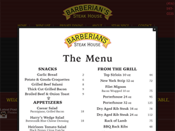 Barberian's Steakhouse shopping