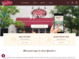 Graeter's gift card purchase