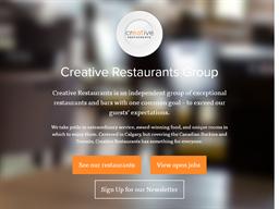 Creative Restaurant Group shopping