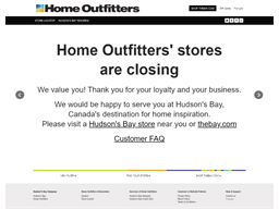 Home Outfitters shopping