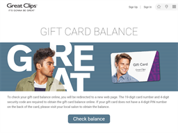 Great Clips gift card purchase