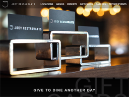 Joey Restaurants gift card purchase