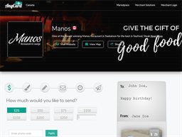 Manos Restaurant & Lounge gift card purchase