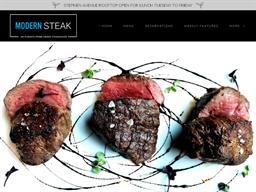 Modern Steak shopping