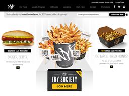 New York Fries shopping