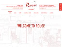 Rouge Restaurant shopping