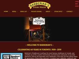 Barberian's Steak House shopping
