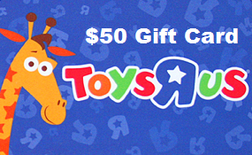 Toys R US gift card design and art work