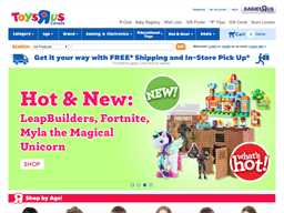 Toys R US shopping