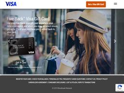 Visa Gift Card GiftCardMall shopping