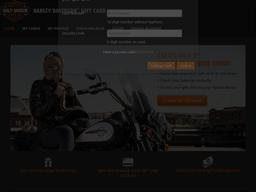 Harley Davidson gift card balance check