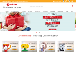 Archies Online shopping