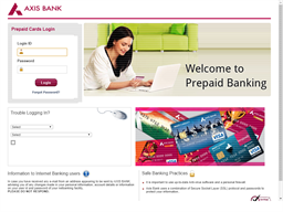 Axis Bank Prepaid gift card balance check