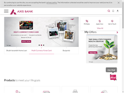 Axis Bank Prepaid shopping