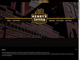 Henry's Tavern shopping