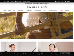 Charles And Keith shopping