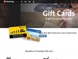 Cleartrip gift card purchase