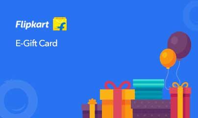 Flipkart gift card design and art work