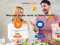 Homepunch shopping