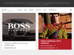 Hugo Boss shopping
