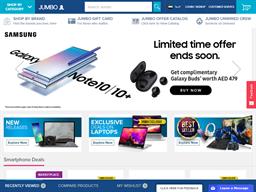 Jumbo Electronics shopping