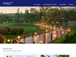 Hyatt Hotels Resorts gift card purchase