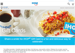 IHOP gift card purchase