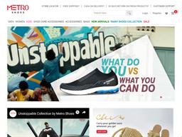 Metro Shoes shopping