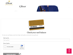 Oberio Hotels gift card balance check