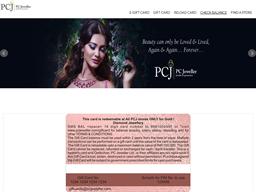 PCJ Jeweller gift card balance check