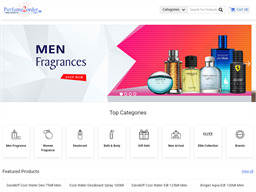 Perfume2Order shopping