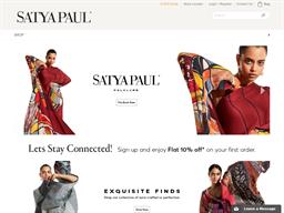 Satya Paul shopping