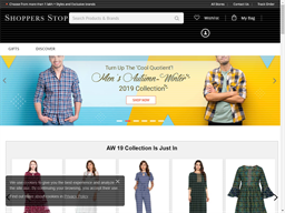 Shoppers Stop shopping