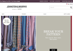 Johnston & Murphy shopping