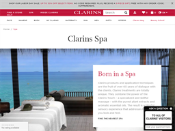 Spa By Clarins shopping