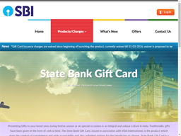 State Bank of India gift card purchase